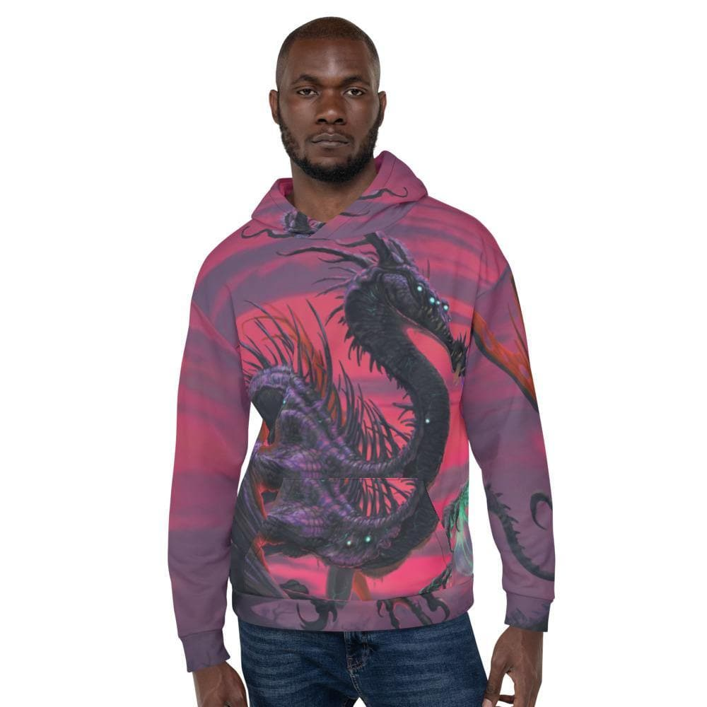 Selvans, the Eternal Decay All Over Print Hoodie - Swordsfall