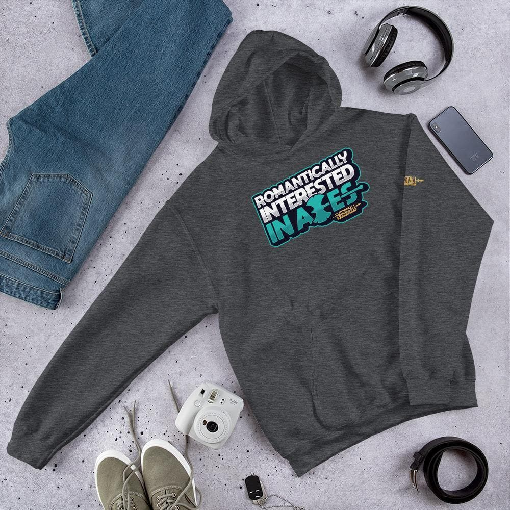 Romantically Interested in Axes Premium Hoodie - Swordsfall