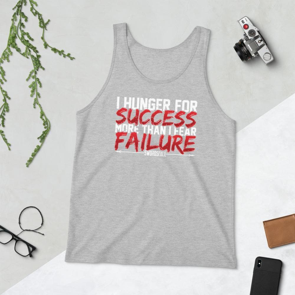 Hunger For Success Tank Top - Swordsfall