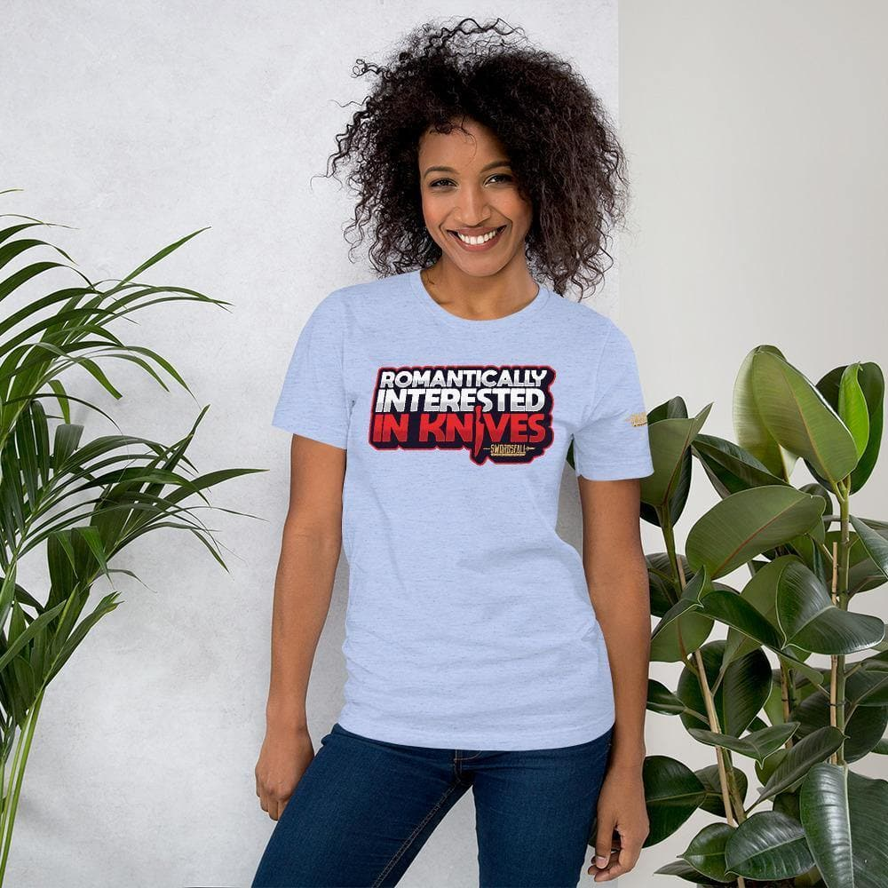 Romantically Interested in Knives Premium T-Shirt - Swordsfall