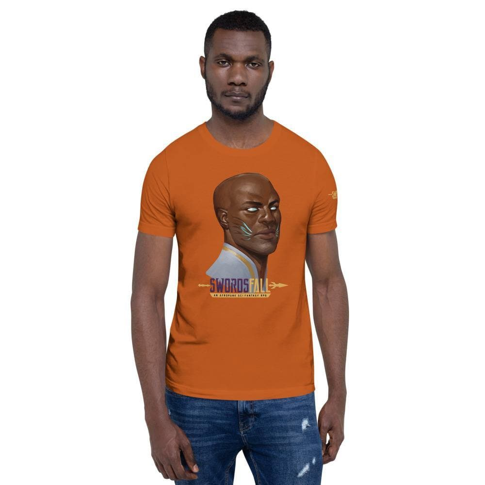 Griot Portrait Premium T-Shirt - Swordsfall