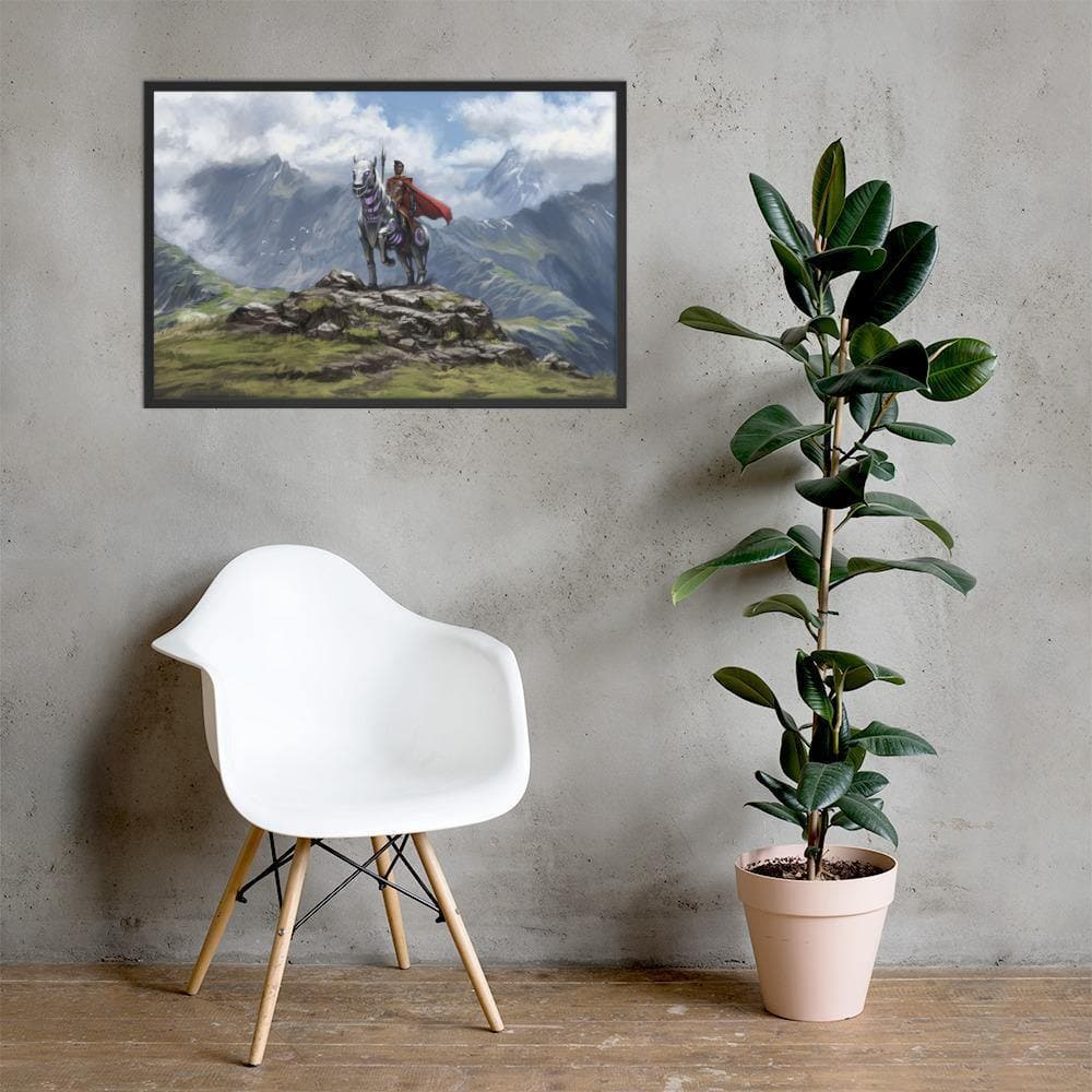 Abyssinian and Ryder Framed Poster - Swordsfall