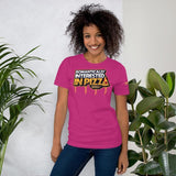 Romantically Interested in Pizza T-Shirt - Swordsfall