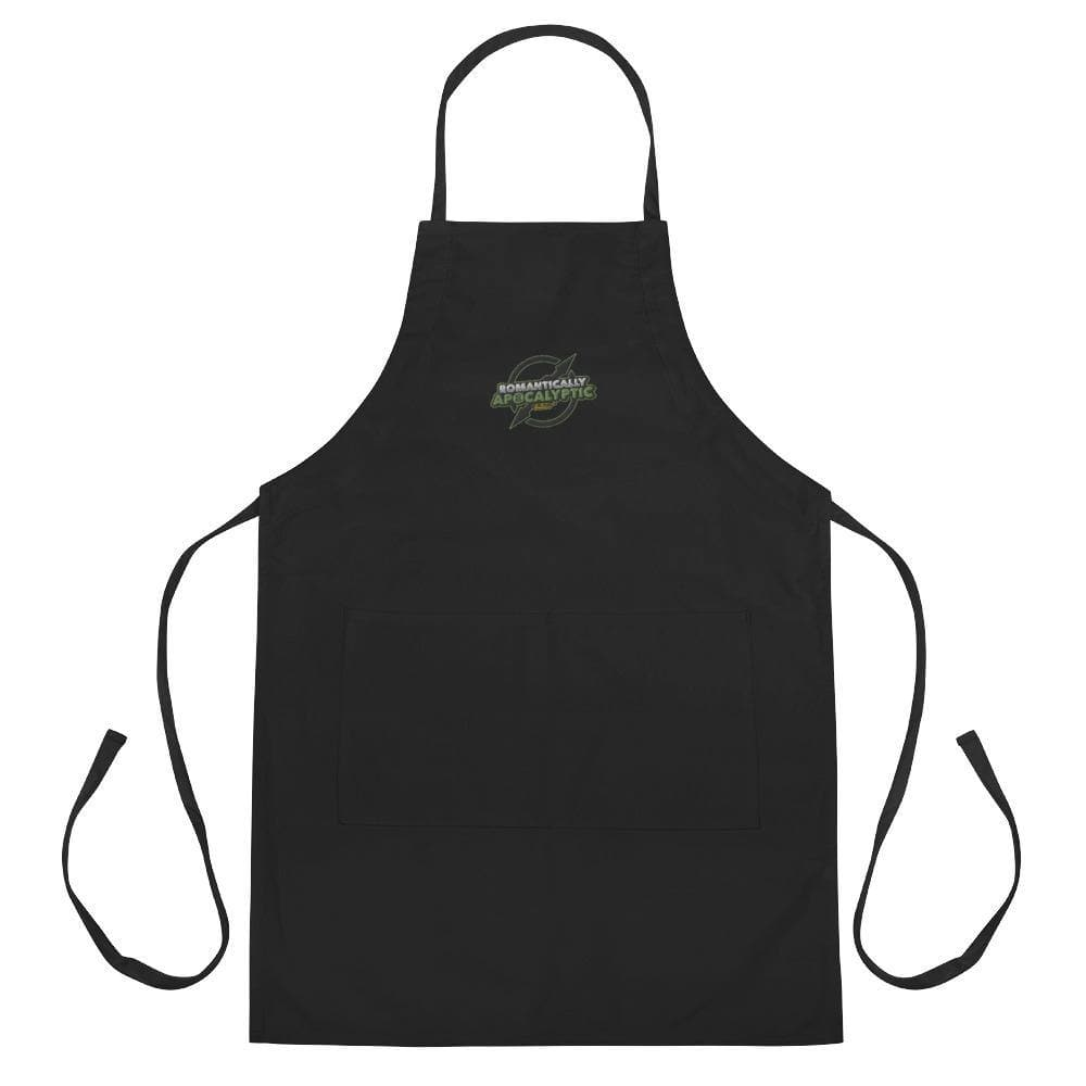 Romantically Apocalyptic Embroidered Apron - Swordsfall