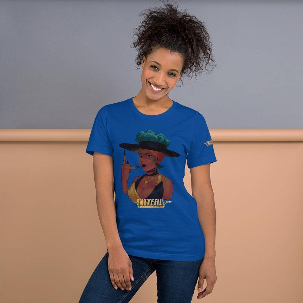 Ella King Portrait Premium T-Shirt - Swordsfall