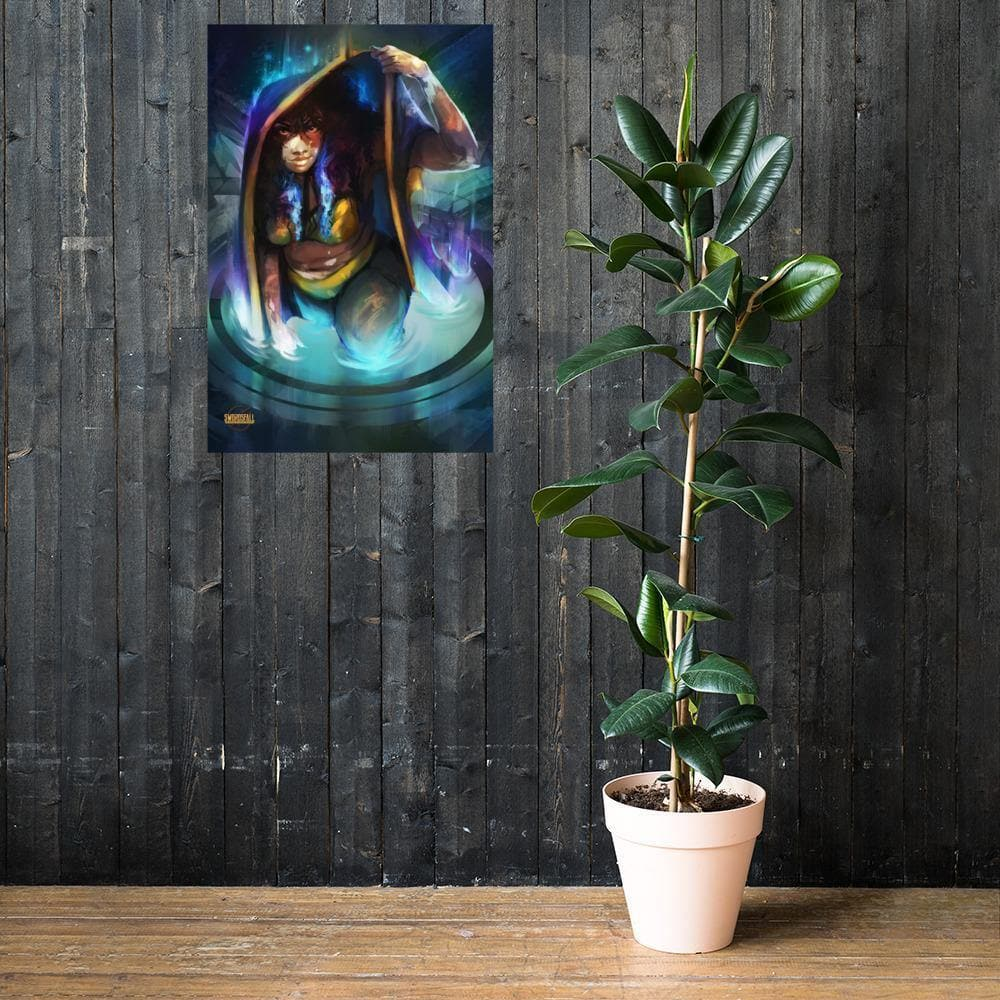 The Seeker in the Tapestry Art Print - Swordsfall
