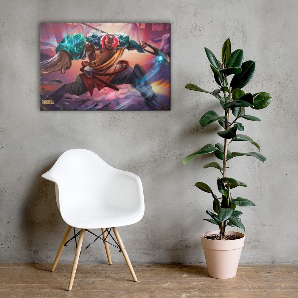 Kalali of the East Canvas Print - Swordsfall
