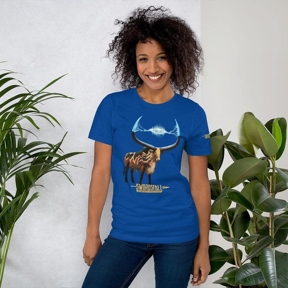 Ankole, the Sacred Thunder Premium T-Shirt - Swordsfall