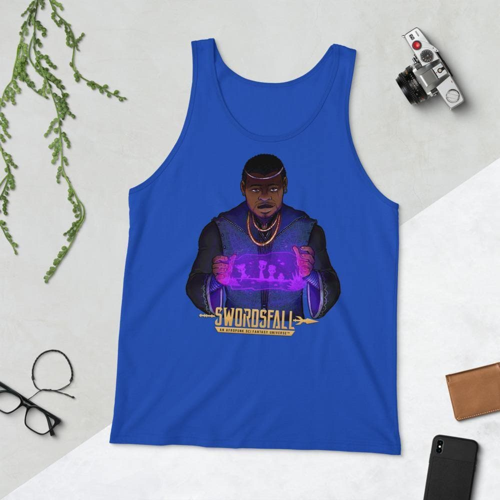 Reggie Savage Tank Top - Swordsfall