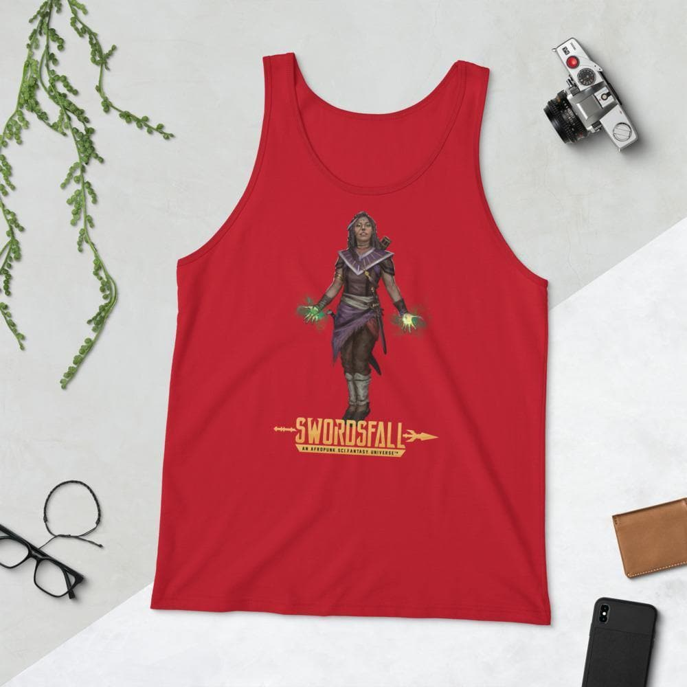 Aabria the Peacemaker Tank Top - Swordsfall