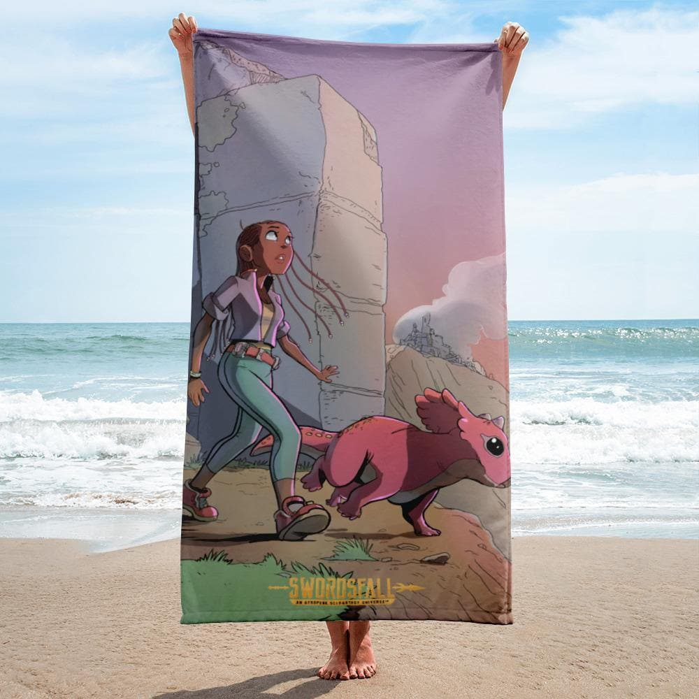 A Girl and Her Tritop Towel - Swordsfall