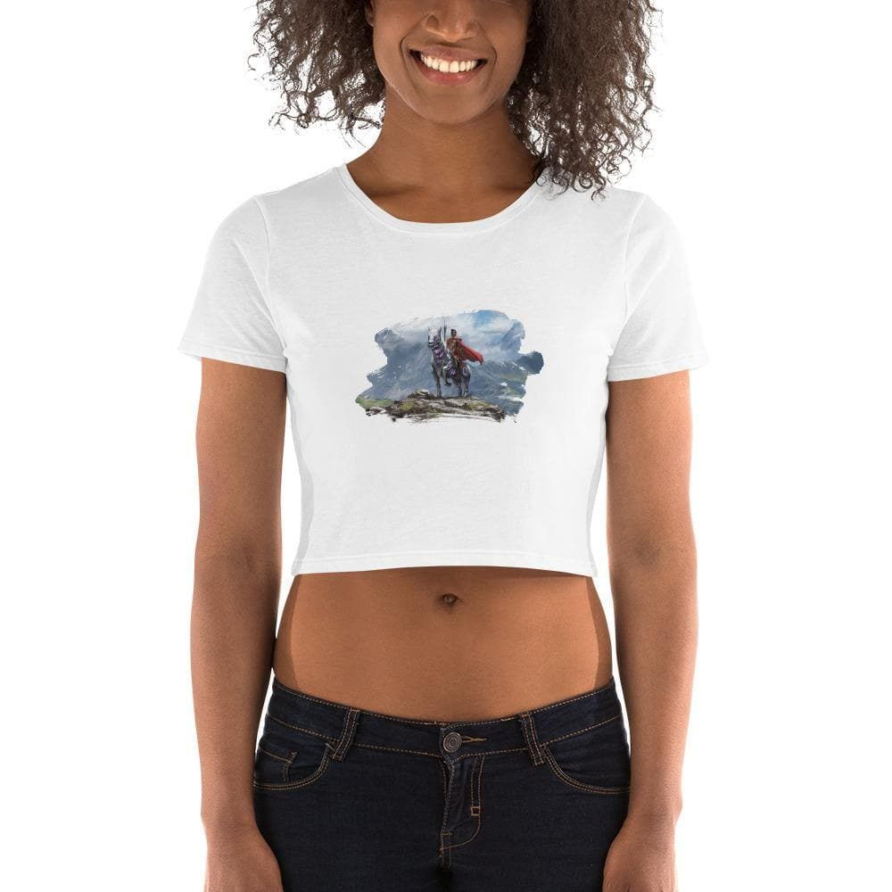 Abyssinian & Ryder Splash Crop Top - Swordsfall