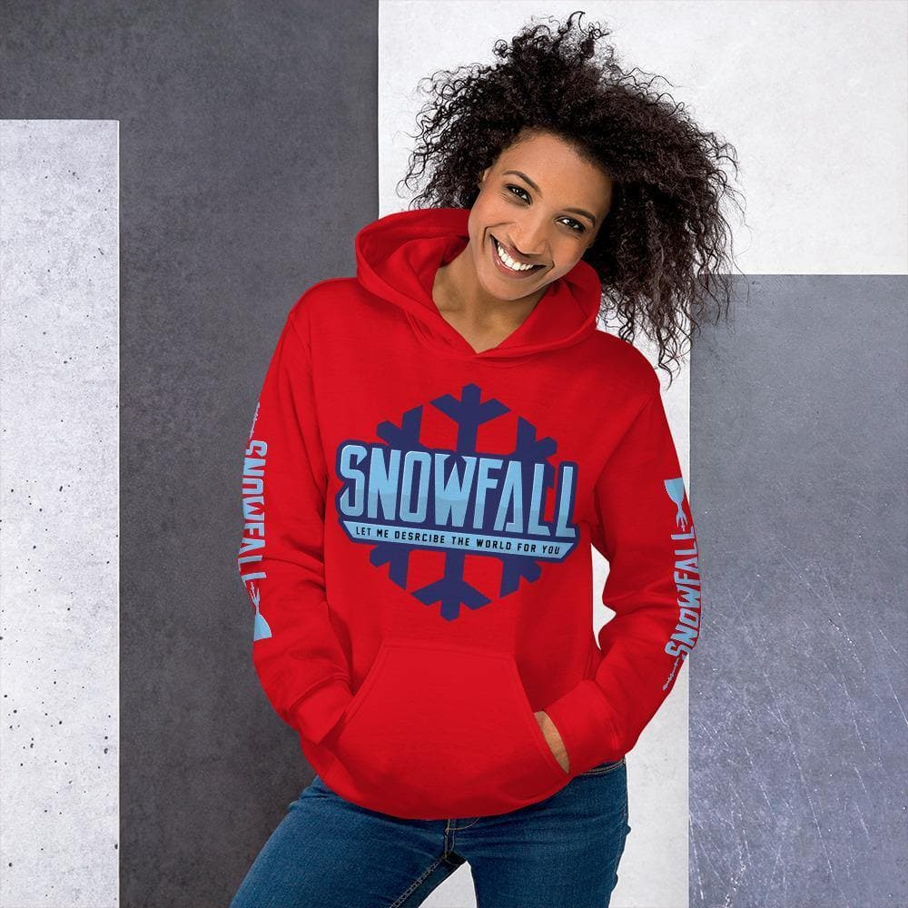 Snowfall (Let Me Describe the World To You) Premium Hoodie - Swordsfall