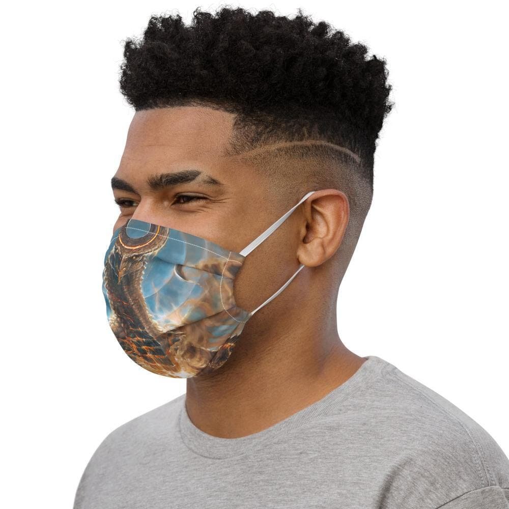 Ryuujin, Father of the Dracon Face mask - Swordsfall