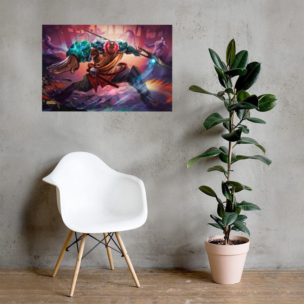 Kalali of the East Art Print - Swordsfall