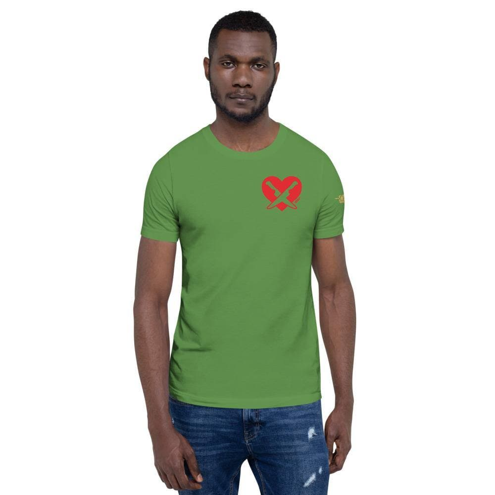 Romantically Interested in Knives (Heart Knives) Premium T-Shirt - Swordsfall