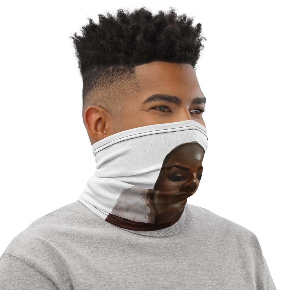 Nubia Victory Pose Neck Gaiter - Swordsfall