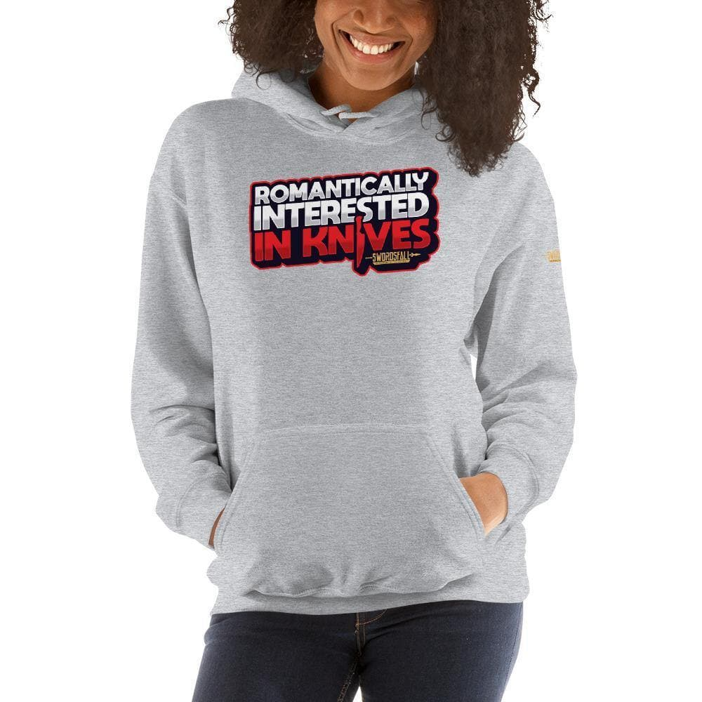 Romantically Interested in Knives Premium Hoodie - Swordsfall