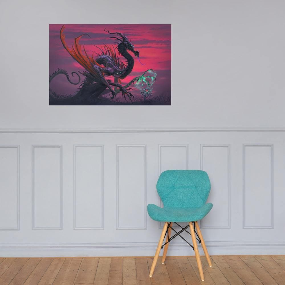 Selvans, the Eternal Decay Art Print - Swordsfall