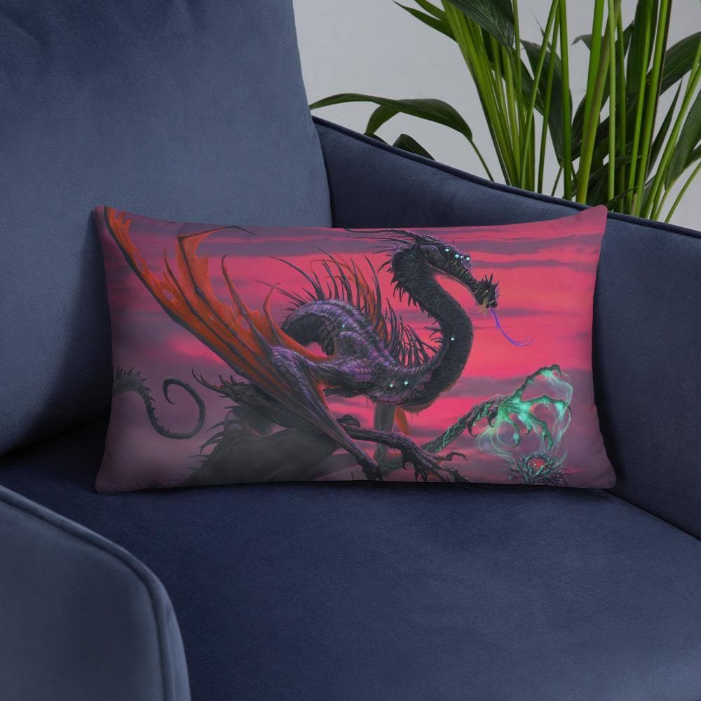 Selvans, the Eternal Decay Pillow - Swordsfall