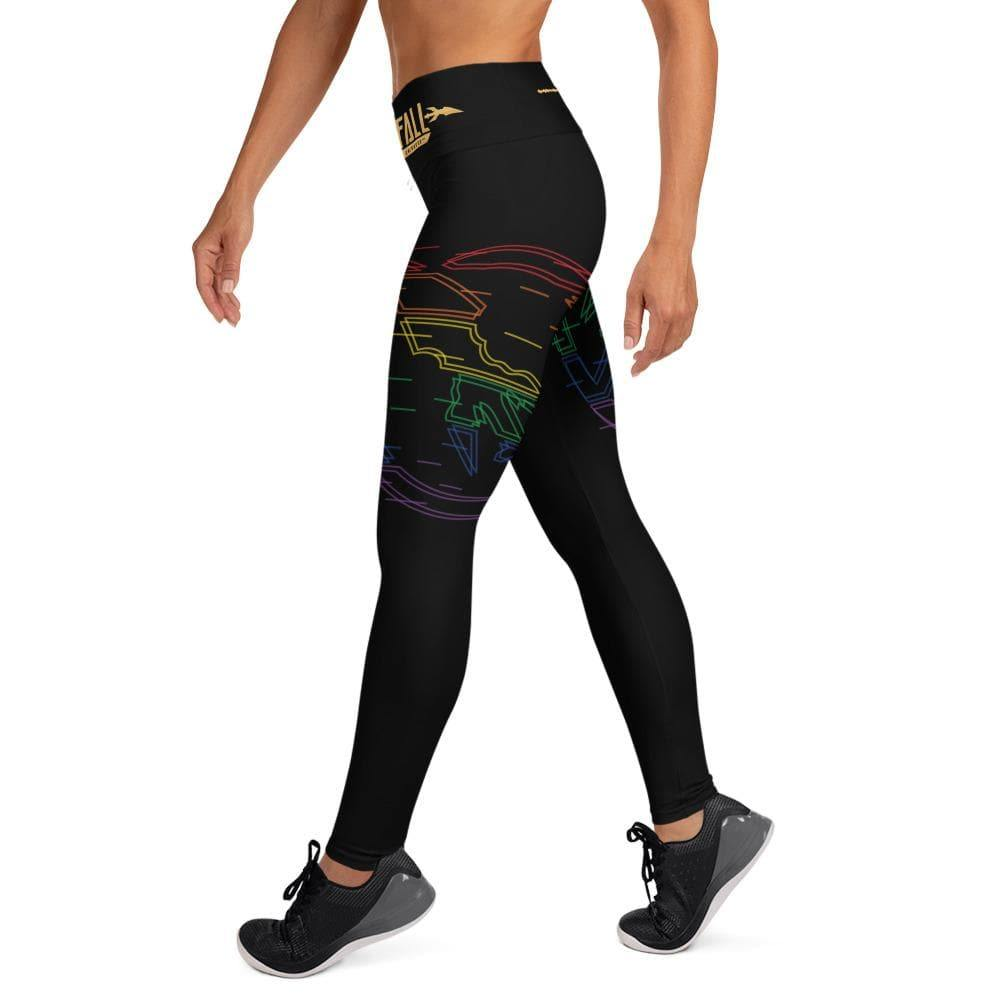 Swordsfall Synthwave (Pride Edition) Yoga Leggings - Swordsfall