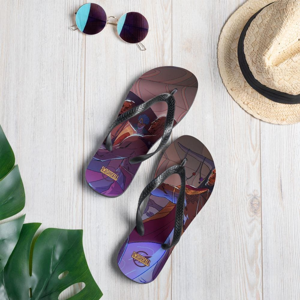The Dracon Culture Flip-Flops - Swordsfall