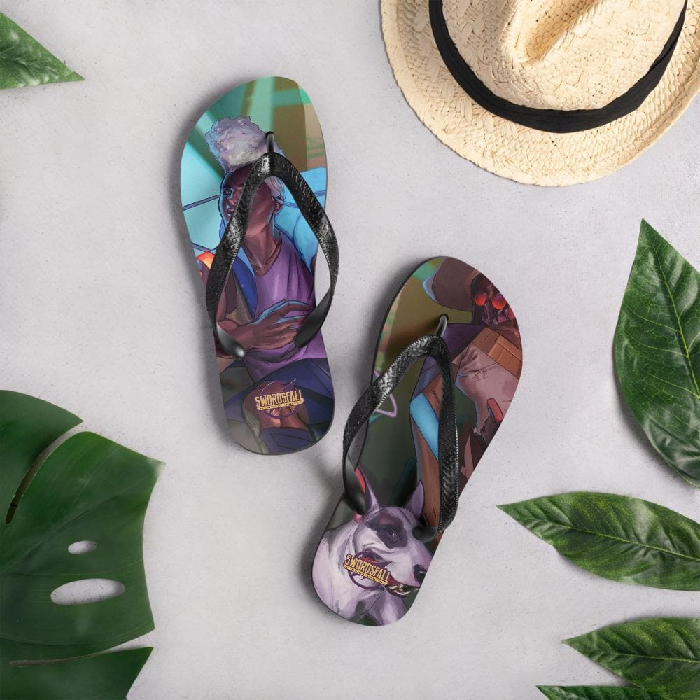 The Grimm Culture Flip-Flops - Swordsfall