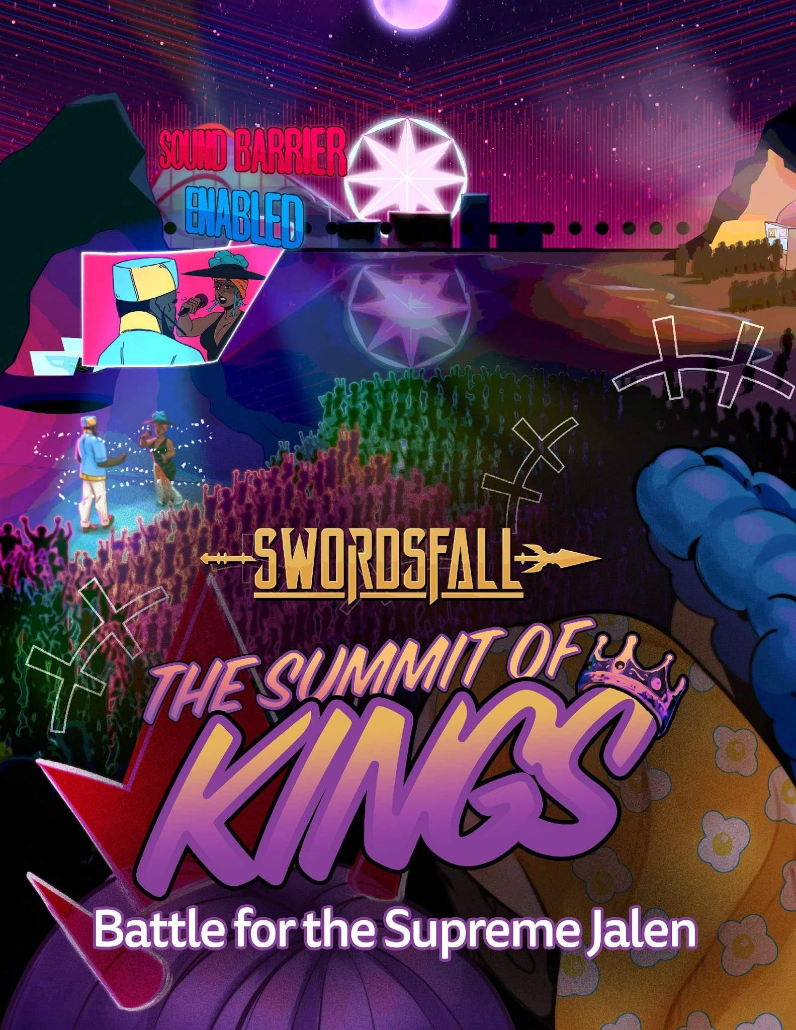The Summit of Kings - Battle for the Supreme Jalen, A Swordsfall Adventure - Swordsfall