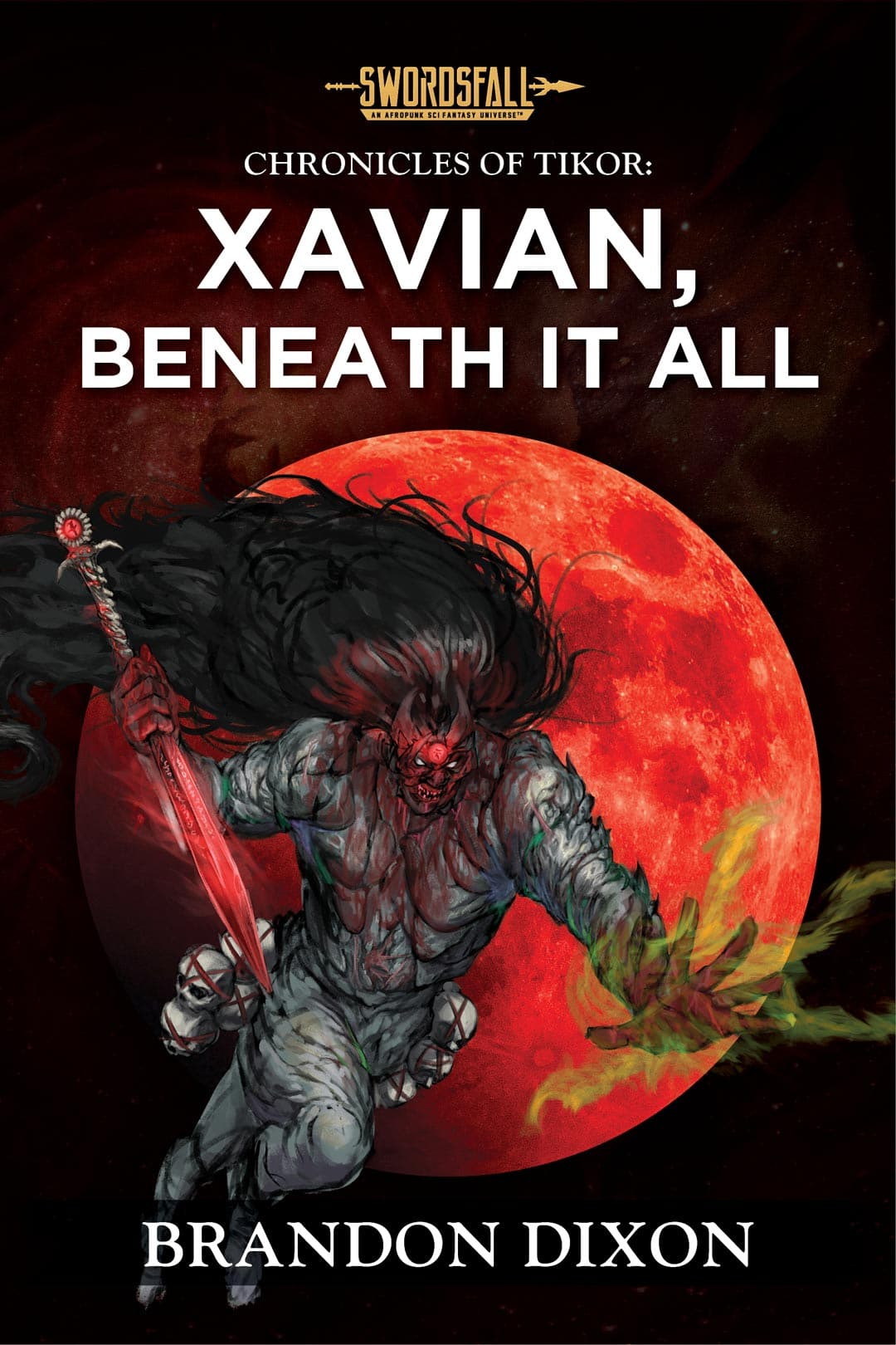 Xavian, The Withering King: A Swordsfall Lore Book (The Chronicles of Tikor) - Swordsfall