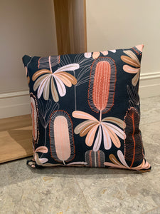 Cushion - Navy Banksia