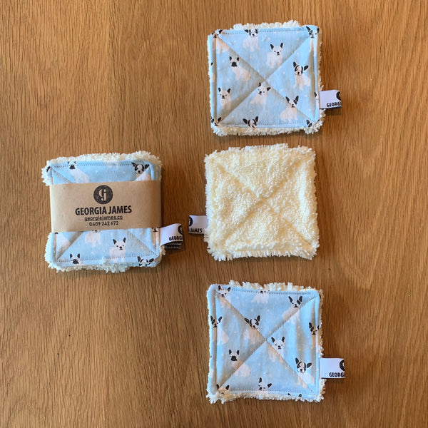 Reusable Makeup Remover Wipes (Microfibre)