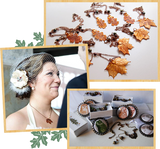 Custom Wedding Jewelry by Enchanted Leaves