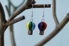 Petite Hot Air Balloon Earrings