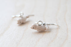 Beluga Whale Earrings