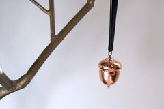 Real Acorn Ornament | Copper Fall Ornament | Electroformed Nature