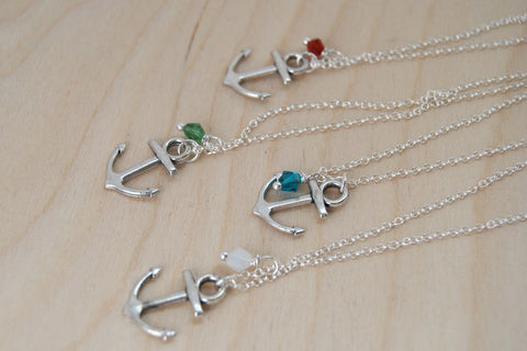 Anchor BFF Necklace (Sold Singly)