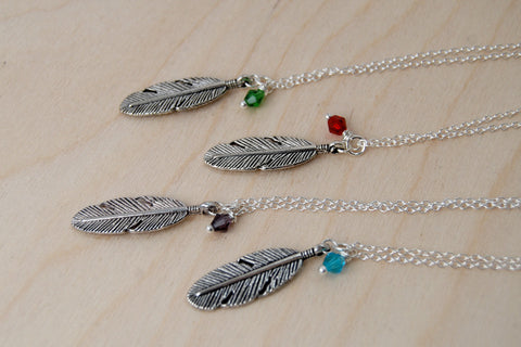 Birds of a Feather BFF Necklace (Sold Singly)