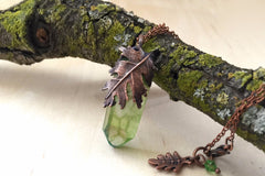 Oak Forest Crystal Necklace - PRE-ORDER ONLY