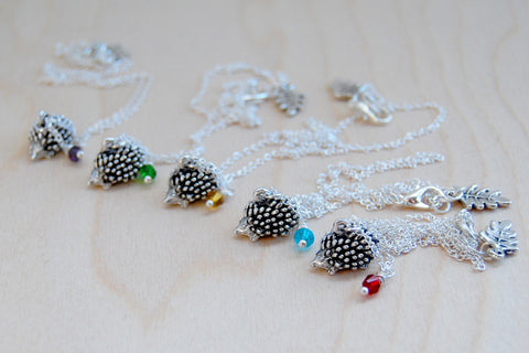 Hedgehog BFF Necklace (Sold Singly)