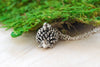 Teeny Tiny Hedgehog Necklace