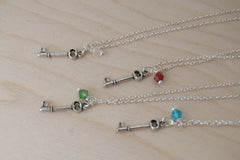 Tiny Key BFF Necklace (Sold Singly)
