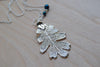 Large Fallen Silver Oak Leaf Necklace | REAL Oak Leaf Pendant | Silver Electroformed Pendant | Nature Jewelry - Enchanted Leaves - Nature Jewelry - Unique Handmade Gifts