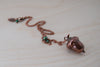 Medium Fallen Copper Acorn Necklace