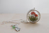 Mushroom Forest Terrarium Necklace - PRE-ORDER ONLY