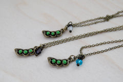 Peapod BFF Necklace (Sold Singly)