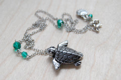 Majestic Sea Turtle Necklace