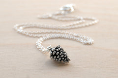 Delicate Pine Cone Necklace