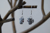 Grey Squirrel Earrings | Cute Squirrel Charm Earrings | Fall Jewelry