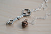 Thorin and Bilbo BFF Necklaces -TWO Necklaces-