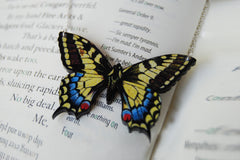 Anise Swallowtail Butterfly Necklace